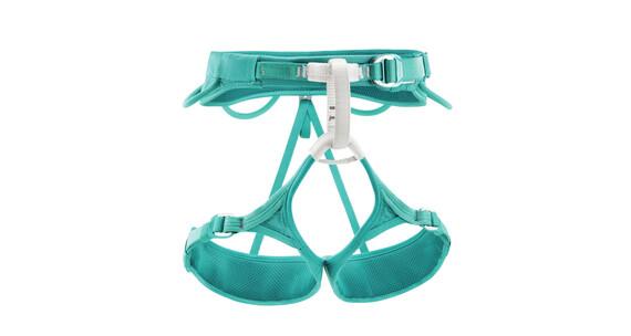 Petzl Luna klimgordel Dames XS turquoise